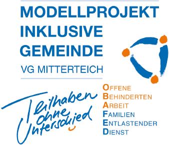 "Logo Modellprojekt ""Inklusive Gemeinde"""