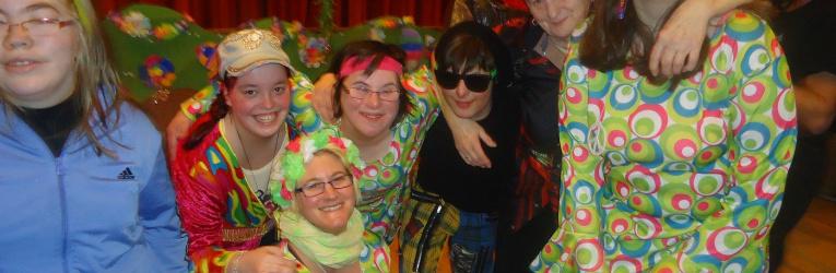 Fasching der Selbsthilfegruppe Behinderte-Nichtbehinderte