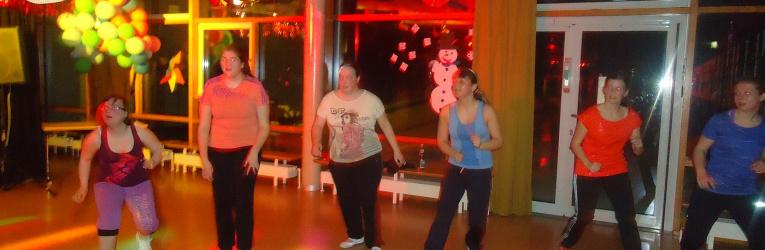 Zumba und Fitness-Party