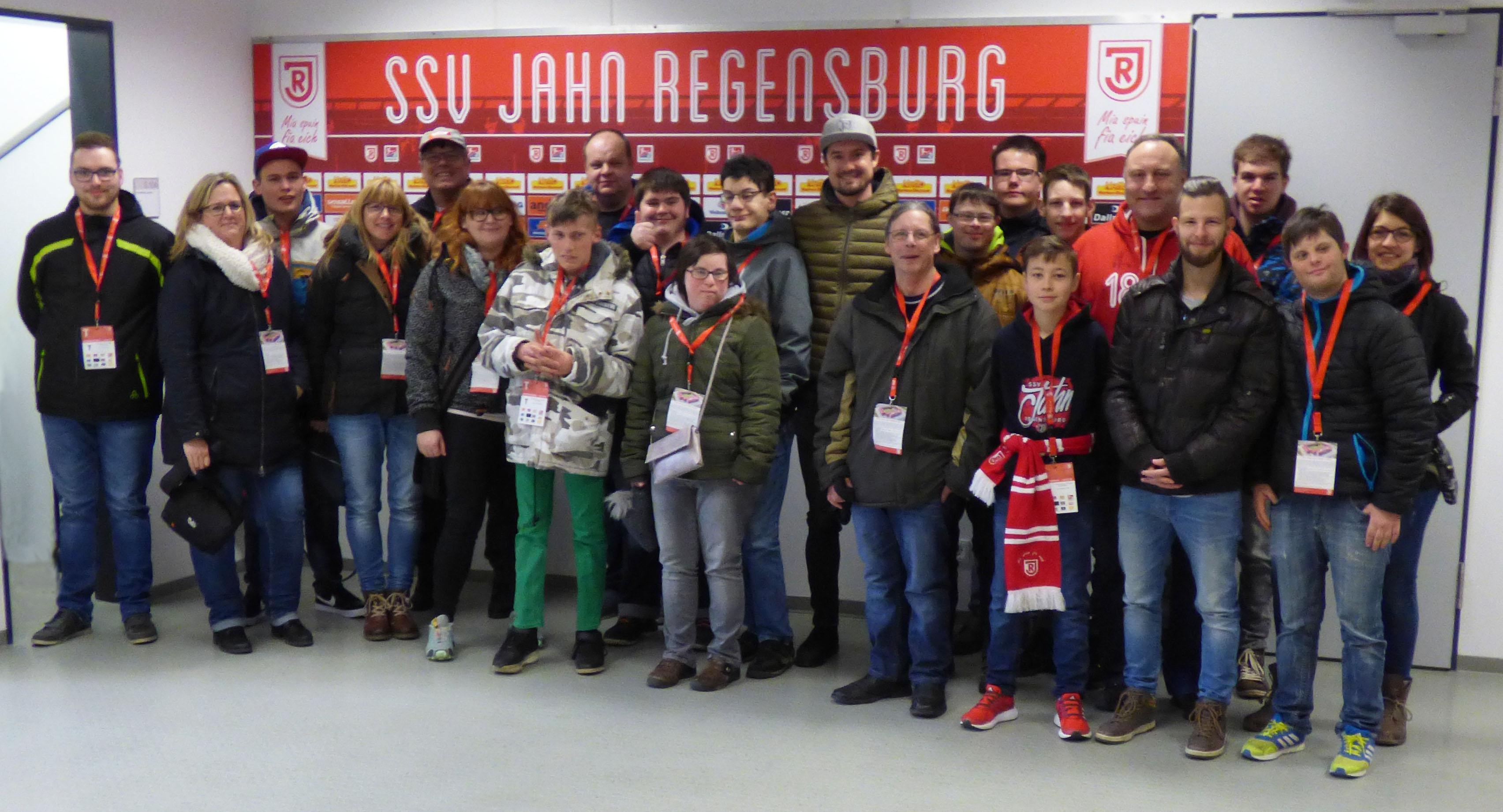 Bild vom Besuch beim SSV Jahn Regensburg