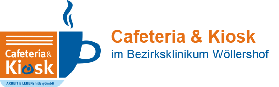 Logo Cafeteria & Kiosk, Wöllershof