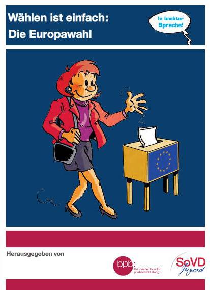 """Titelbild der Broschüre """"Wählen ist einfach"""""""