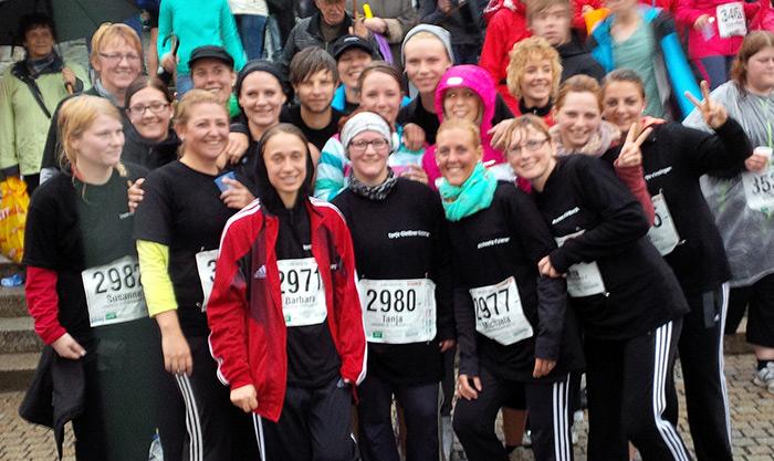 Das Team der Lebenshilfe Tirschenreuth beim Nofi-Lauf 2014