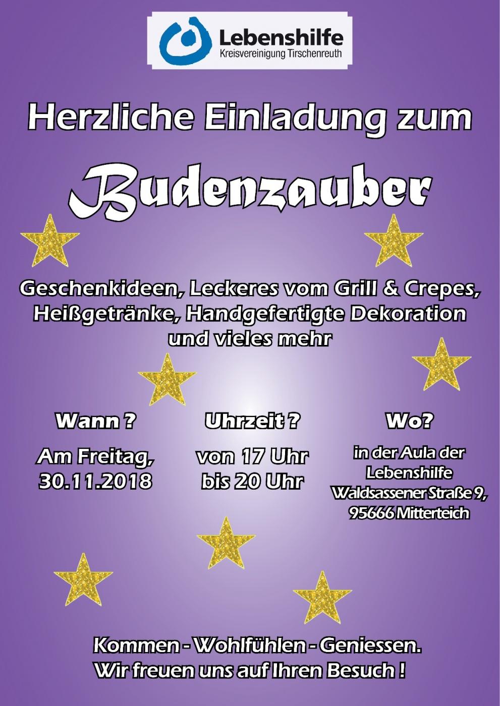 Plakat Budenzauber