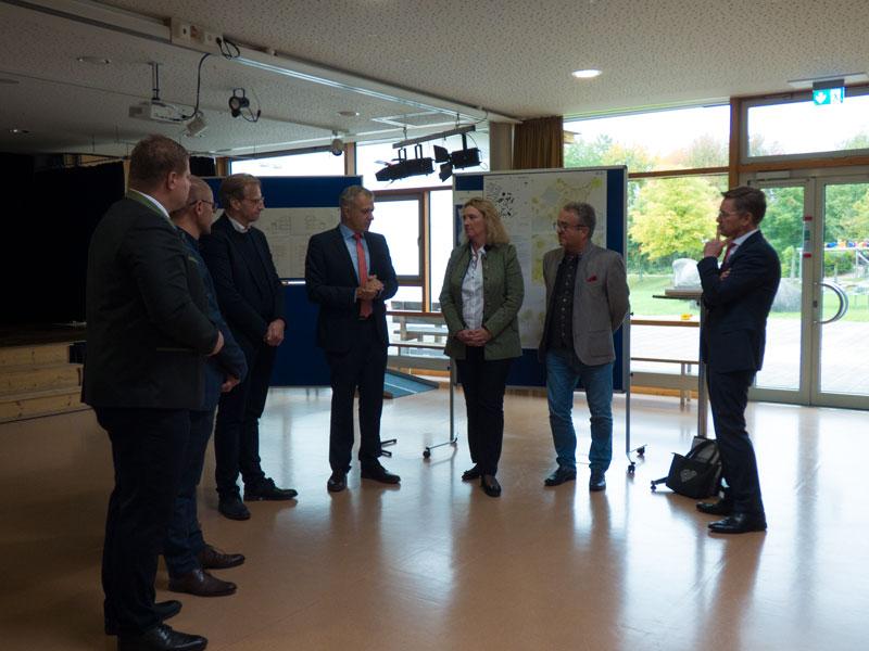 Besuch von Staatsministerin Kerstin Schreyer